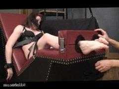 nurse lisa toe tied & tickled m/f