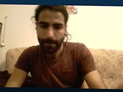 Arab solo hairy men jerk-off webcam