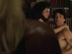 Melanie Griffith & Elizabeth Whitcraft - Lingerie & Topless, Girl on Top
