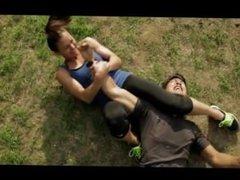 Kristina Baskett vs Jeremy Marinas 'Juice' mixed fight