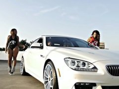Fresh Fly Girl's Liquid & Naomi Love Twerk to Young I's Foreign Whip