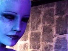Mass Effect Rough Lesbian Sex