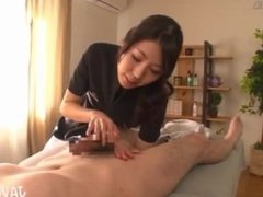 Oil Handjobs in a Massage Salon - 1