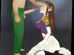 Princess Zelda Super Deepthroat