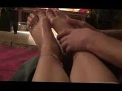 Very Oily Foot Massage - Tilly x
