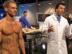 Dennis - Naked on Public TV - Anatomy for Beginners