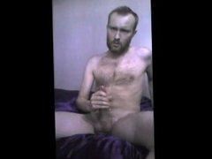 Big Cumshot On My Hairy Chest