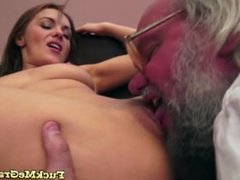 Babe Dixie Loves Mature Cock