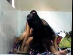 Cute Indian Delhi Teen Girl Fucked by Boyfriend in Hostel