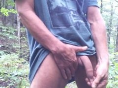 Outdoor foreskin play #3