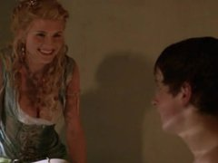 Viva Bianca - Showing her naked body to a teen boy (18+) - Spartacus