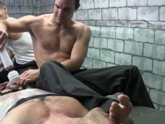 lance foot tickling
