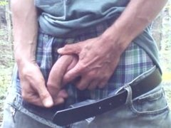 Outdoor foreskin play #4