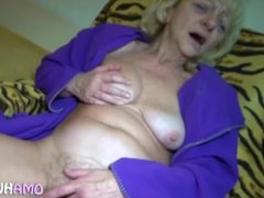 Granny Loves Solo Play And Bondage