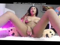 Amateur Ebony Babe Toy Orgasm