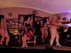 VR 360 COLOMBIAN STREAPTEASE SHOW