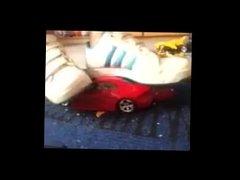 crushing toy model cars 2