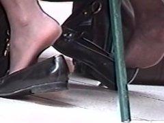 Nylon Feet. They so pretty