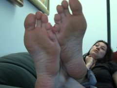 Kelsey' Candid Stinky Soles