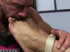 Leg fetish gay porn Dolf's Foot Sex Captive