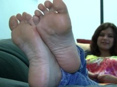 Audrey's Candid Stinky Soles
