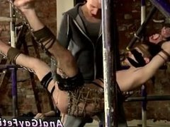 Bondage gay sex first time A Boys Hole Used For Entertainment