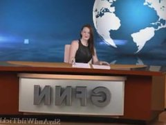Tickling anchorwoman Vivienne