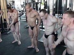Gym posing 1