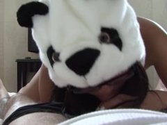 Hungry Panda Yuki Mori Attacks Hard Cock Wanting Her Feeding Time Of Cum