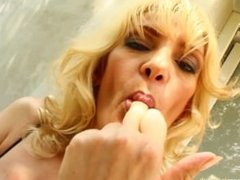 MILF hottie Silvya in a hardcore MILFthing scene