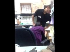 Co Worker Fucked On Hidden Cam In Storage Room
