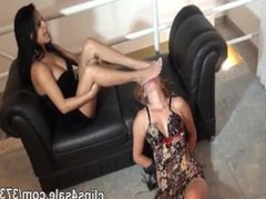 Brazil Lesbian Foot Worship