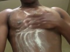 Bodybuilder Naked Shower