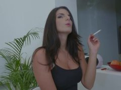 Cynthia Hill posh smoking slut