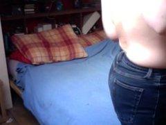 Hidden Spy Cam Bedroom Compilation- Visit my profile to see her on webcam