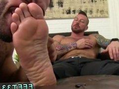 Bangkok gay twink foot fetish full length Hugh Hunter Worshiped Until He