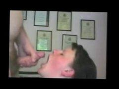 This sexy amateur slut love taking facials compilation