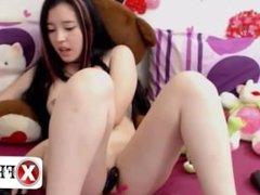 Babe asian masturbation webcam