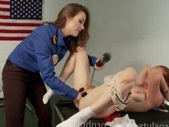 "FROM KINK.COM: A GREAT LESBIAN SCENE CALLED, ""A TSA TAKEDOWN"" Thanks Kink!"