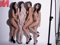 Joey Fisher, Holly Peers, Emma Frain & Stacey Poole Nude!