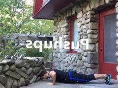Kamil short and hot workout video (1)