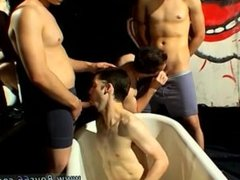 Tube sex free gay young men piss and cum Kaleb just can't get enough of