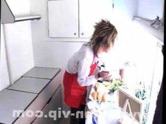 Japanese twink abused inside street food truck