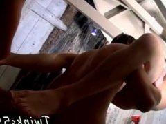 Japanese gay porn boys in underwear Threesome Foot Fun For Horny Boys