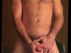 Young, Hairy, Sexy Masturbator