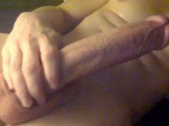 Big Cock Stroking & Cumming