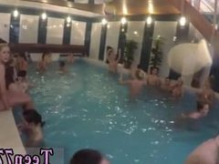 Sex adict and small teen vs big dick Inside the water or outside, femmes