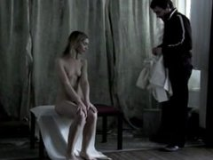 Belén Blanco desnudo total en Graba