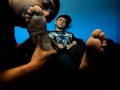 Rockys feet sucked