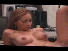 Babe big tits threesome cam Crazy mega-slut brought in a gun, she still